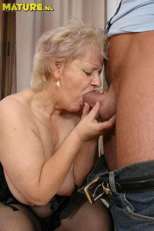 Observe this wild grannie have joy with a rock-hard man-meat