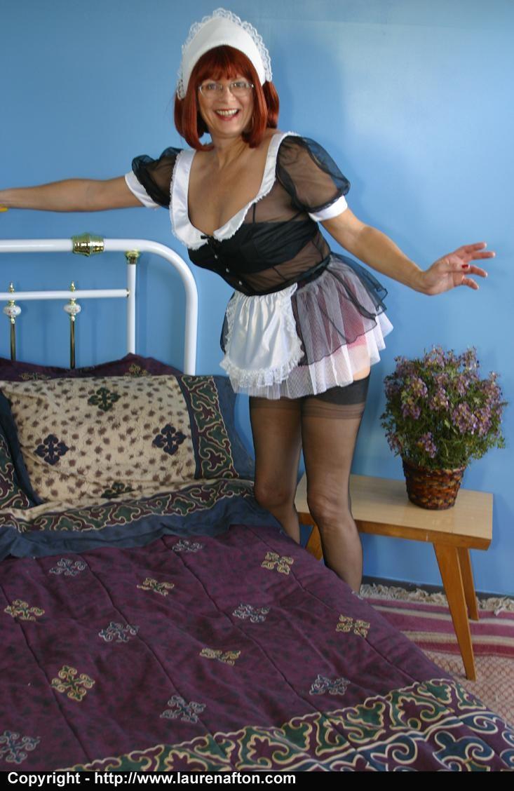Wild mature maid
