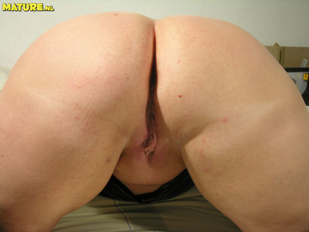 Enormous boobed mature super-bitch blowing and fisted